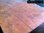 Marked Headboard Wood