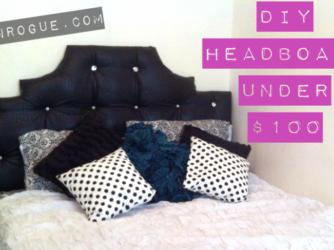 DIY Headboard Under $100