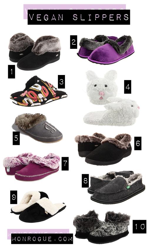 cute vegan slippers winter 2012