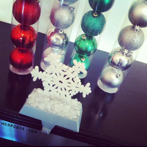 dollar store christmas trinkets