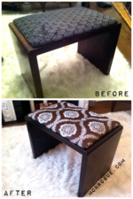 metal bench makeover