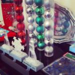 dollar store xmas decorations