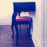 mounted half table diy via monrogue