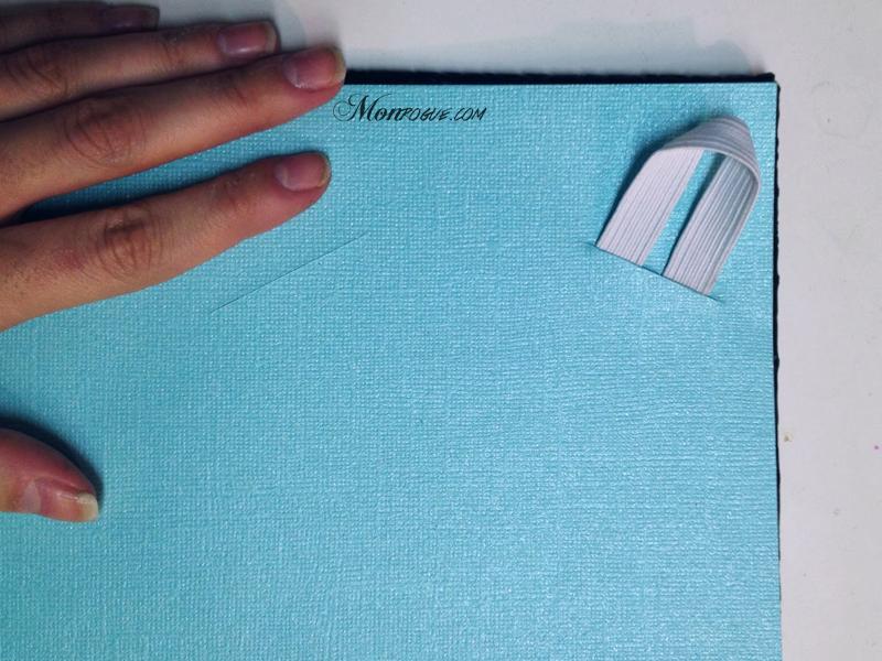 DIY iPad Case Step 6: Cut holes for elastic