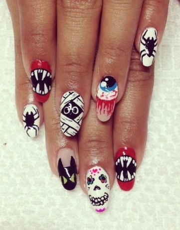10 Halloween Nail Art Ideas – A Roundup
