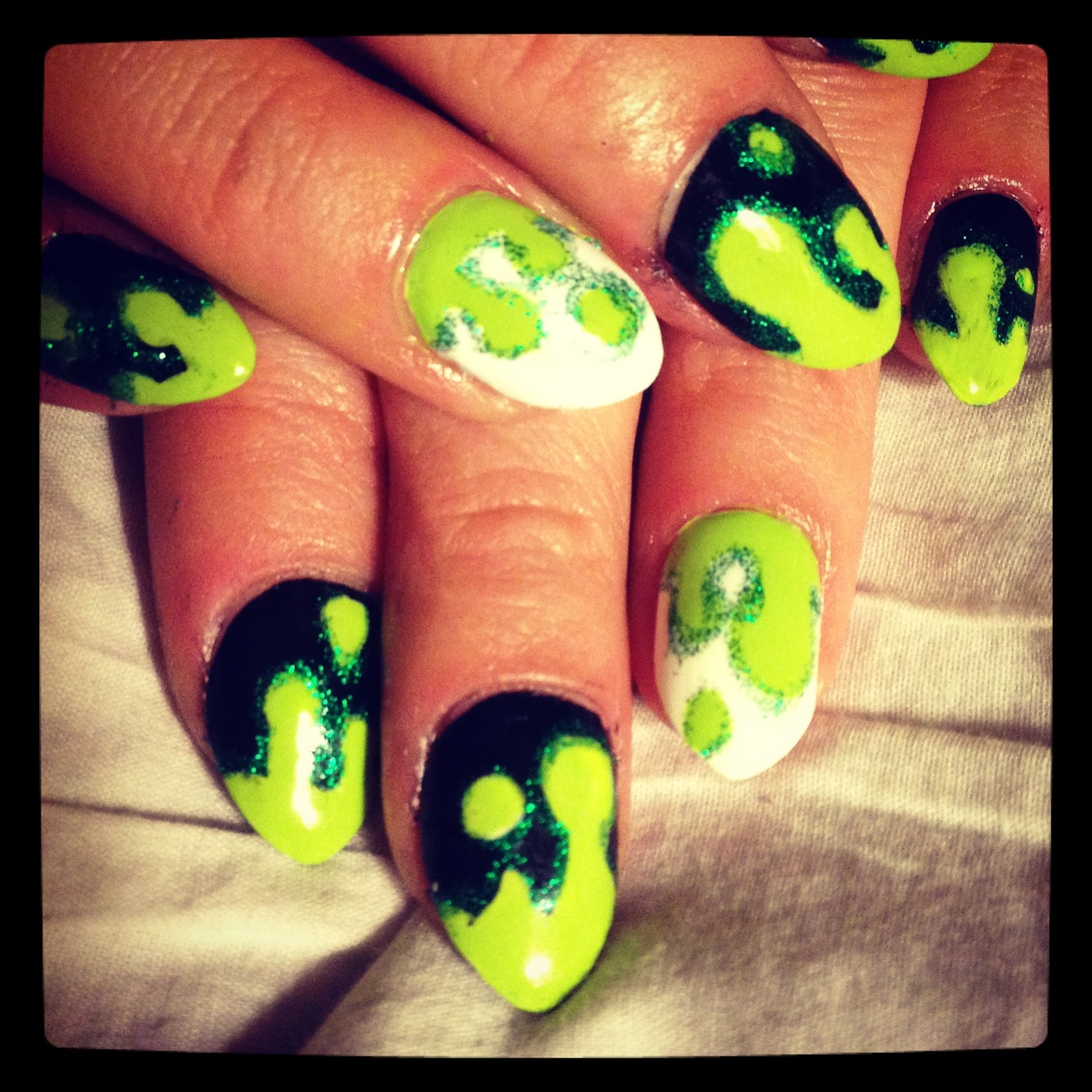 """slimy Halloween nails</em>"""" class=""""alignnone size-full"""" /></a></p> <p><a href="""