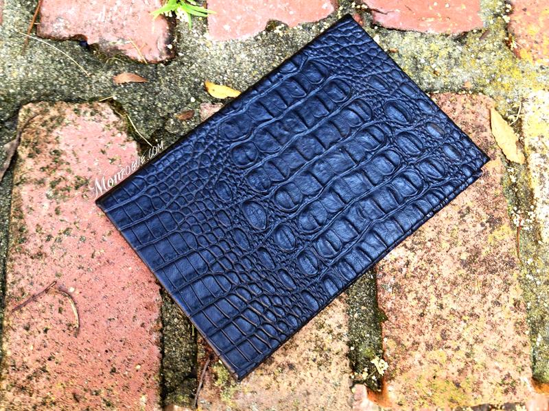 Monrogue DIY iPad case front cover
