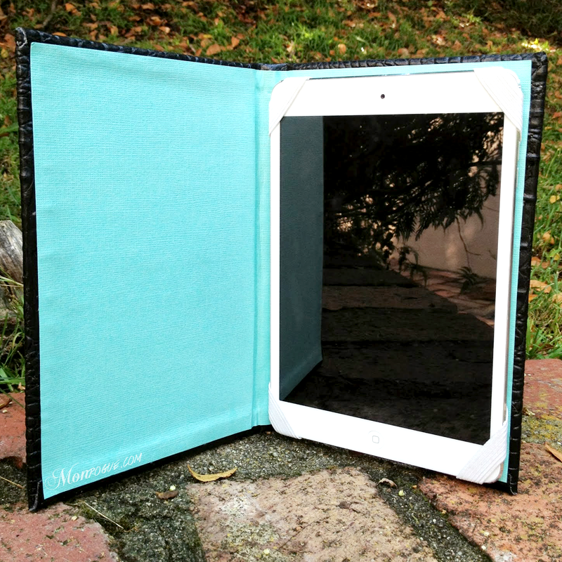 homemade iPad case