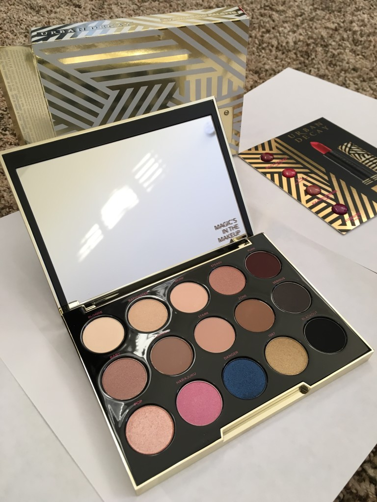 Gwen Stefani palette with packaging