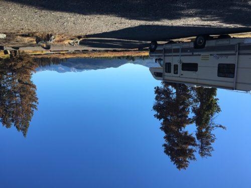 Boondocking between Yellowstone & Grand Teton